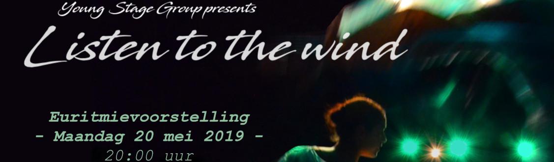 Euritmievoorstelling 20 mei 20.00 uur : Listen to the wind