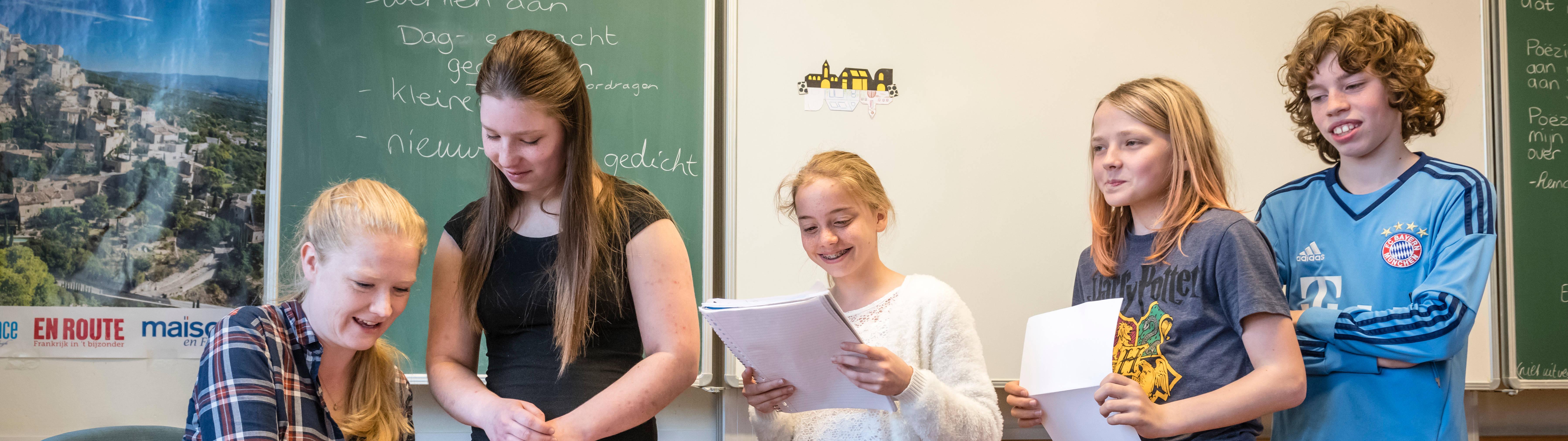 Vacatures Nederlands, Frans, geschiedenis en wiskunde.